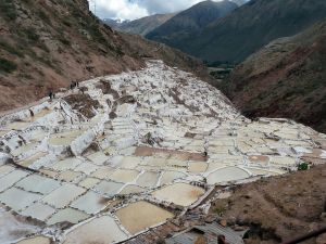 The Salt Ponds of Maras, Peru