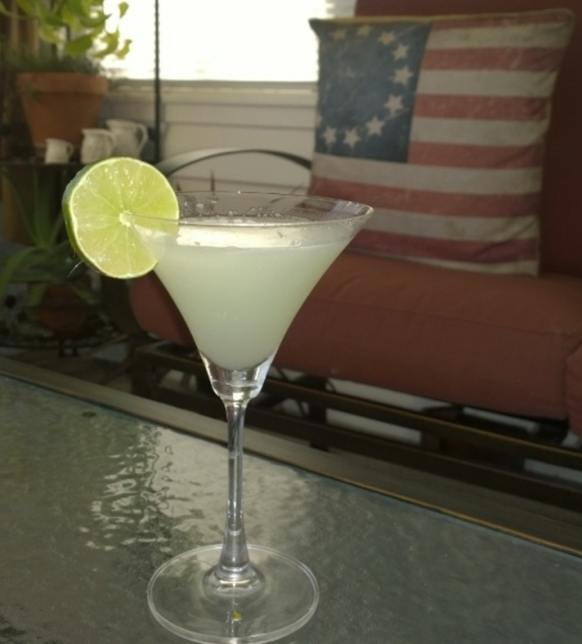 Lemon Drop Martini in glass